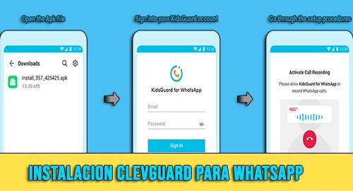 Clevguard para Whatsapp Como Funciona